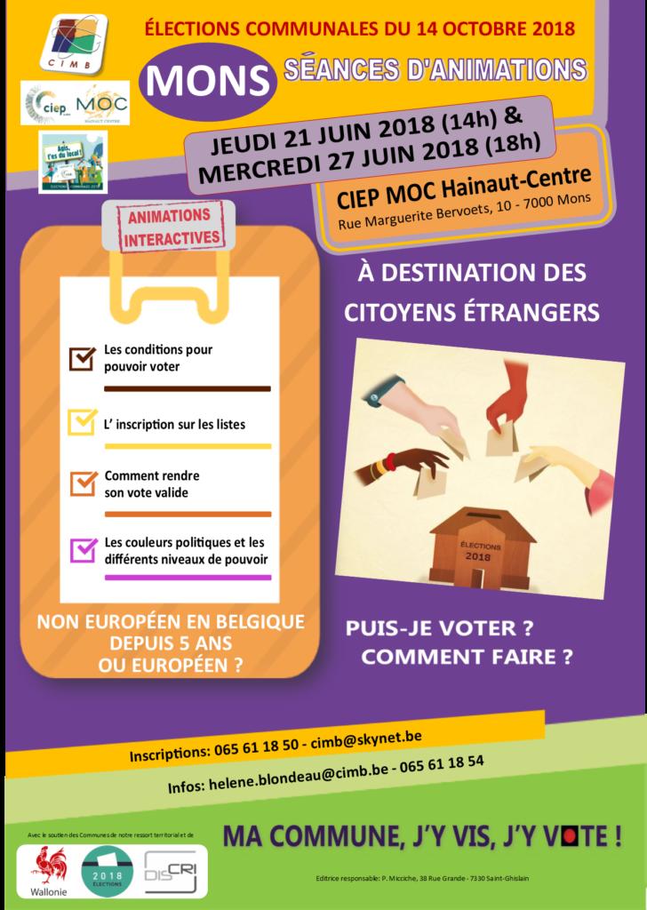 SEANCES ELECTIONS MONS 21 ET 27 JUIN 2018 CIMB CIEP MOC HC---